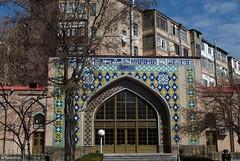 Blue Mosque . Yerevan, Armenia.