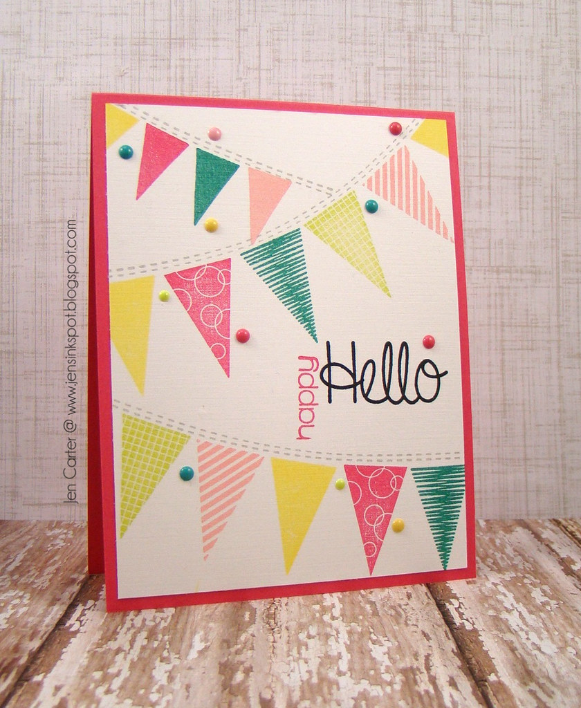 Jen Carter Whimsy Hello Banners