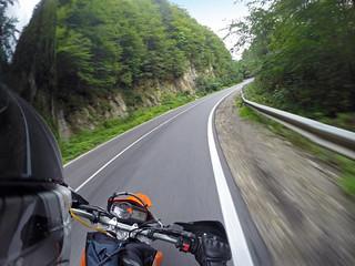 KTM 690 Enduro on road