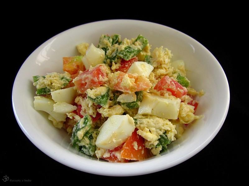 Vajickovo - zeleninovy salat