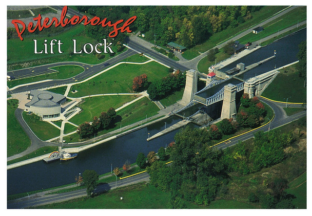 Ontario - Peterbourough - Lift Lock - 2