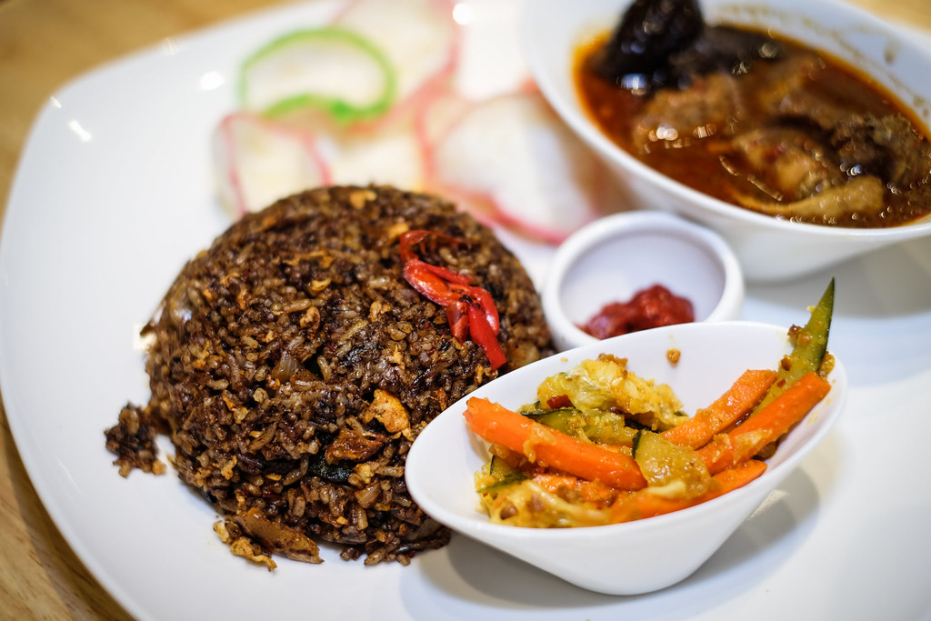 O'nya Sayang: Ayam Keluak Fried Rice Set