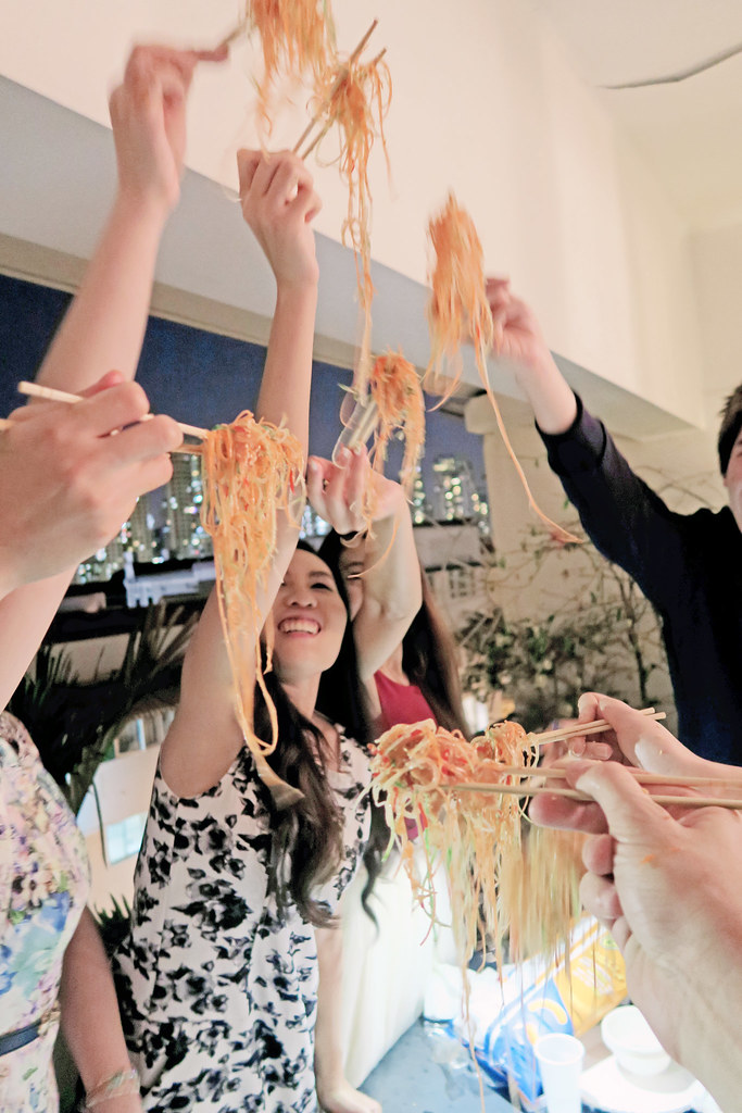 typicalben friends Lo-Hei Yu Sheng