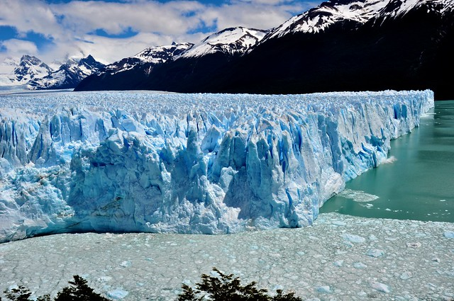 The North Face of the Moreno Glacier © Geoff Livingston