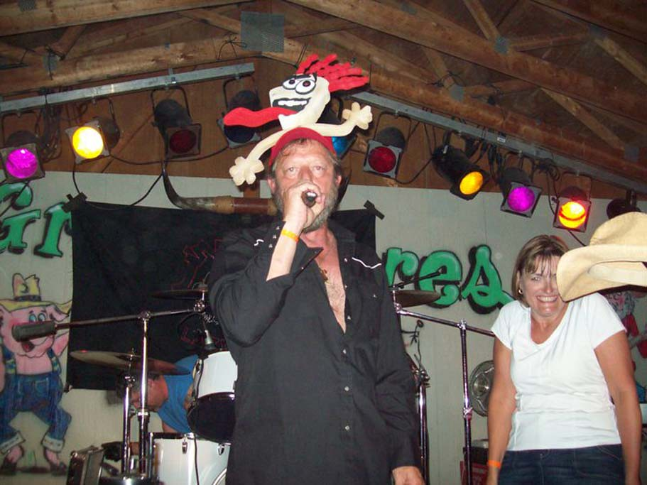 Screamin with Jimmy the Hog