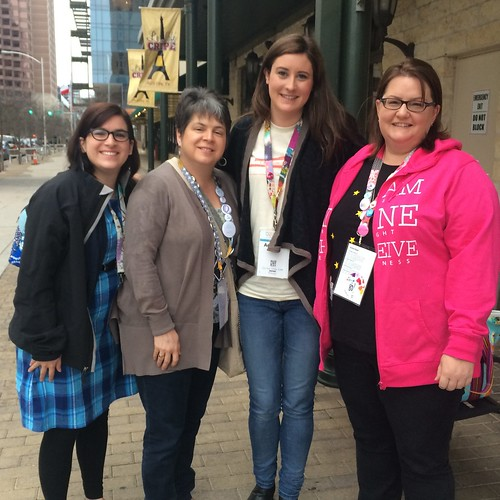 With Rachel from Snippets of Sweetness and Debbie from A Quilter's Table