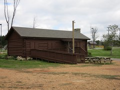 Log Cabin in the Park