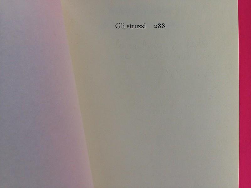 Roland Barthes, L'impero dei segni. Einaudi 1984. Carta di guardia / pagina dell'occhiello (part.), 1