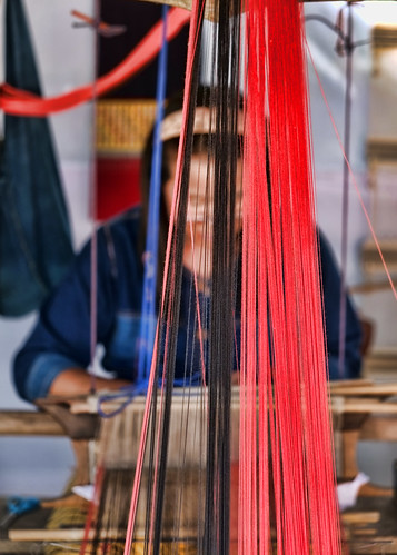 Northern Thailand: Weaver in Mae Chaem