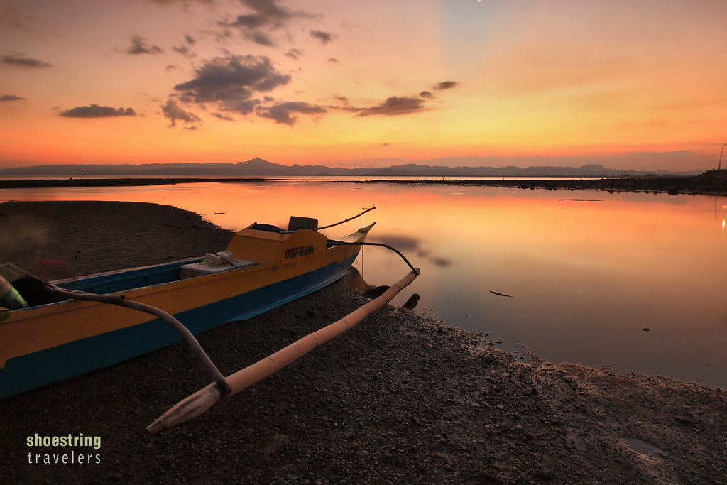 sunset colors at Ormoc