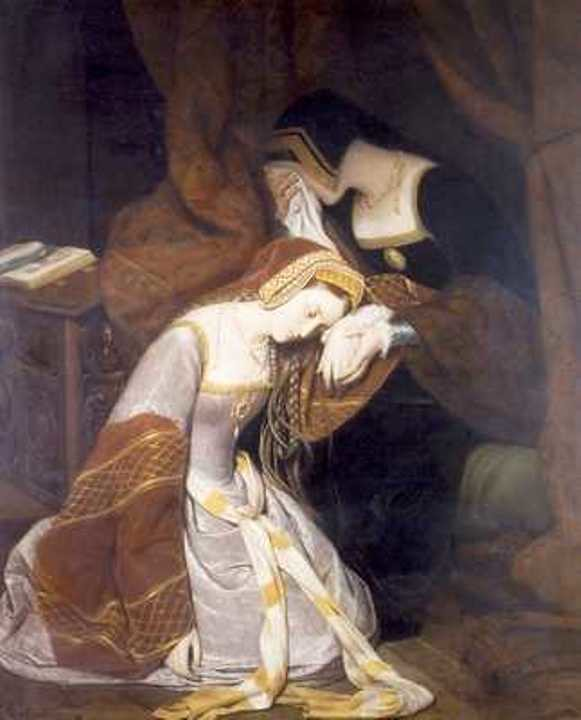 Anne Boleyn in the Tower, by Édouard Cibot