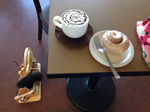#12: Borgia mocha and Florida Orange roll. And the spinning wheel