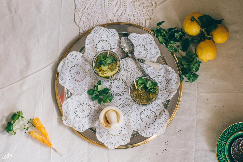 Persian Chia Seeds Drink for Nowruz | Bevanda di Semi di Chia alla Persiana per Nowruz | Lab Noon #PFBNowruz-28
