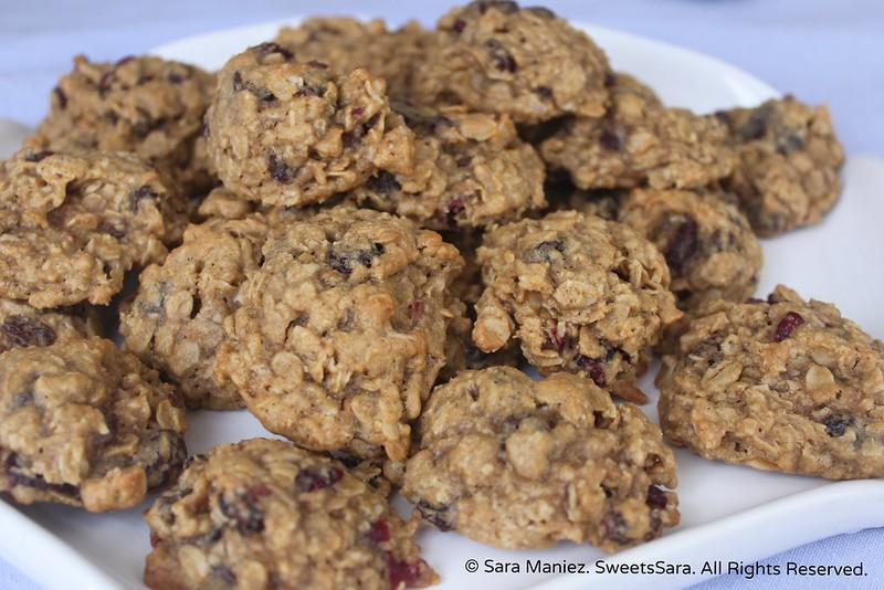 Oatmeal Raisin Cranberry Cookies-IMG_5514