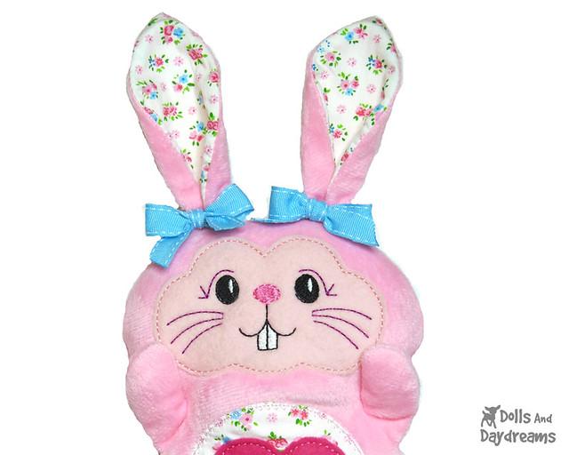 Bunny rabbit stuffie