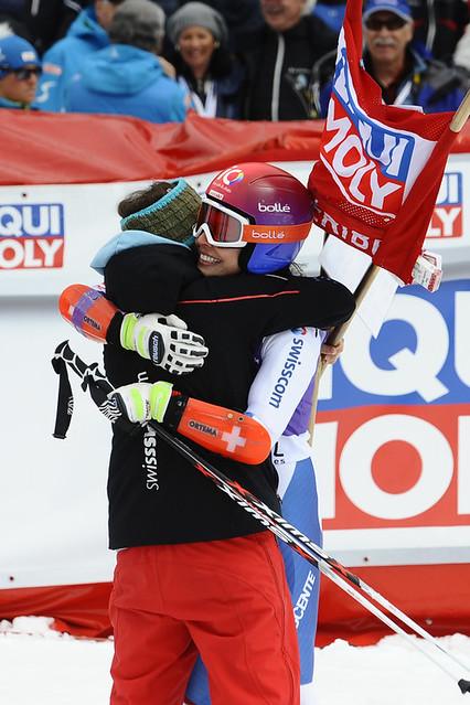 Photo:#meribelworldcup Ski 2015 - Slalom Géant Femmes Dimanche 22 By Méribel