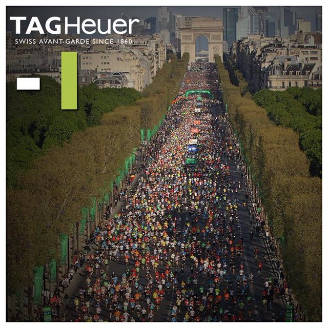 #Path2Paris ~ One more sleep. Just a day to go before the @ParisMarathon! @TAGHeuer