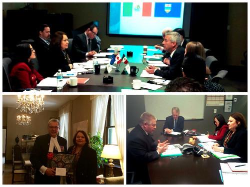 Visita de la Cónsul de México en Calgary a Edmonton