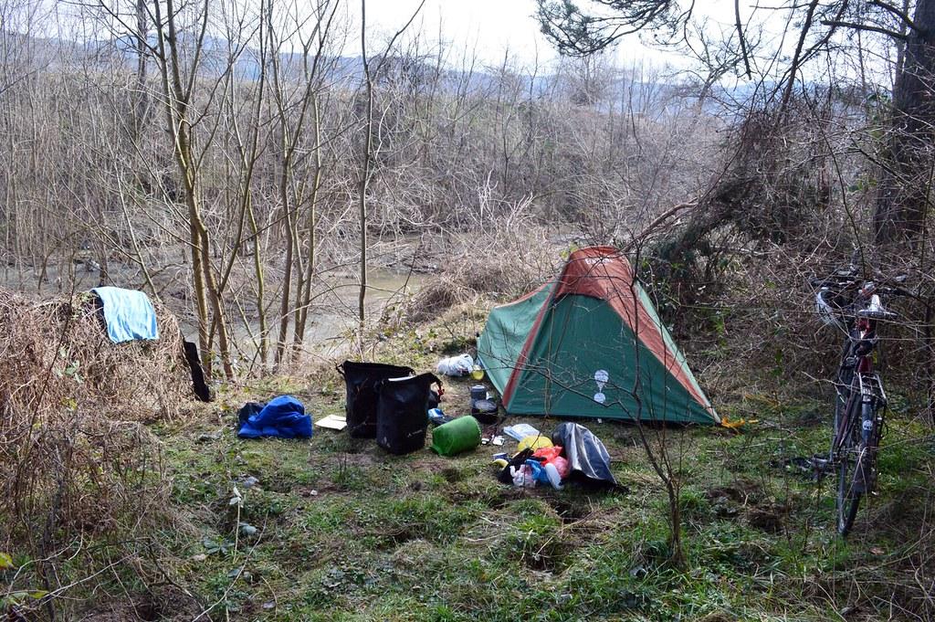 Wild camping - Bulgaria