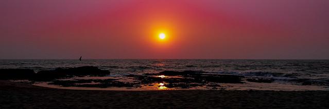 Anjuna Beach, Goa. India.