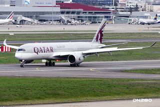 Qatar Airways A350-941 msn 009