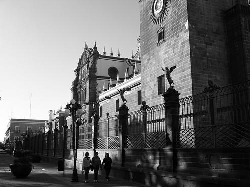 Caminando en Puebla