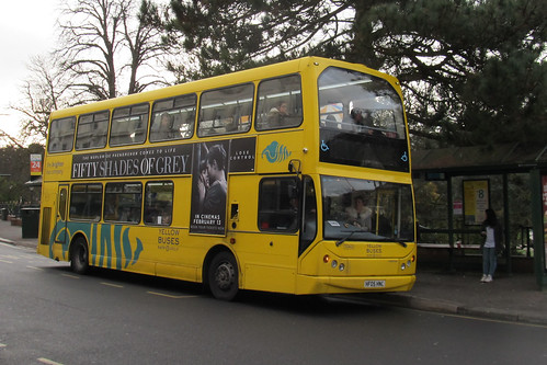 VLM115 Yellow Buses Bournemouth