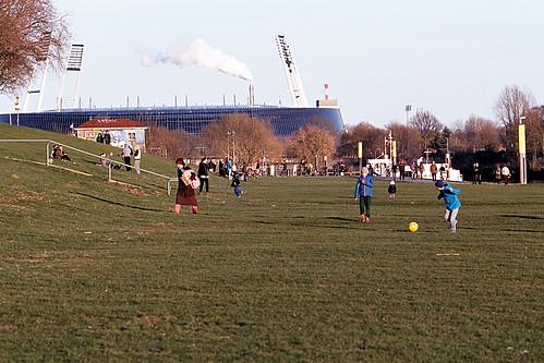 Fussball am Osterdeich 2015.03.25