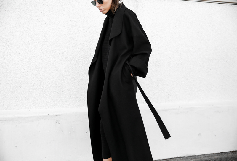 BC x MODERN LEGACY collection oversized black coat street style fashion blog (1 of 1)