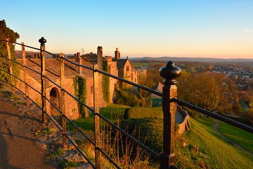 castle lancashire goldenhour clitheroe northwestengland clitheroecastle eastlancashire nwengland lancashirelandscape