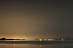 Tralee town from Fenit