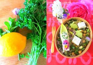 couscous salad bento