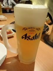 Cold Asahi Draft Beer!! @King DaZhi, Gubei, Shangh…