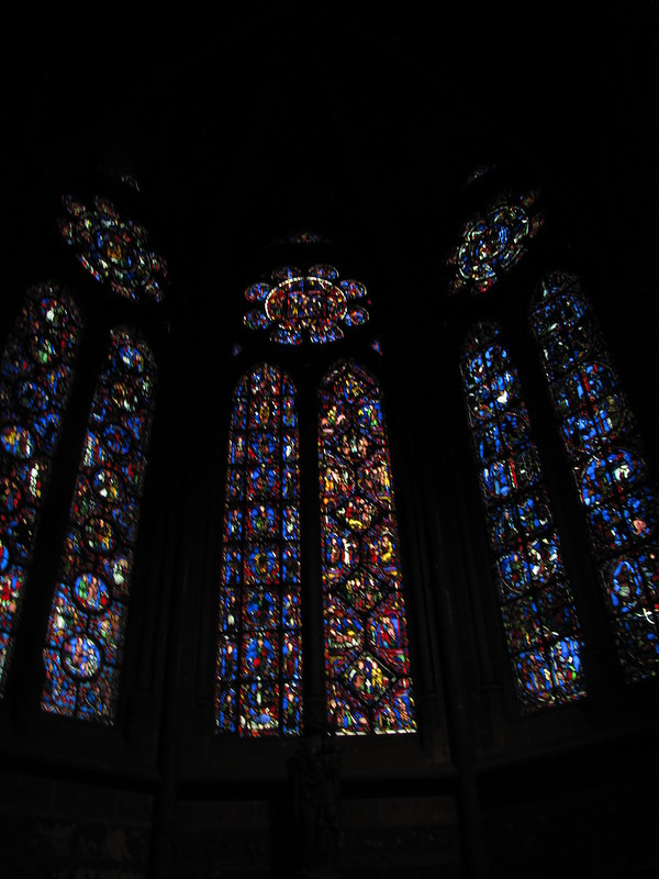 13th century Stained Glass, Beauvais