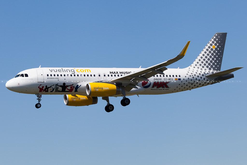 EC-MEQ - A320 - Vueling