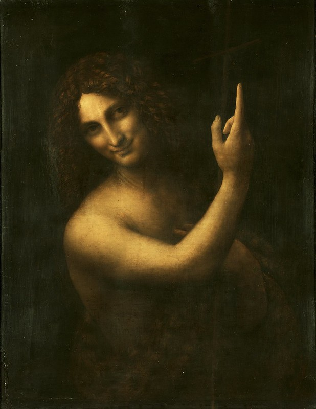 Leonardo da Vinci - Saint John the Baptist (c.1513)