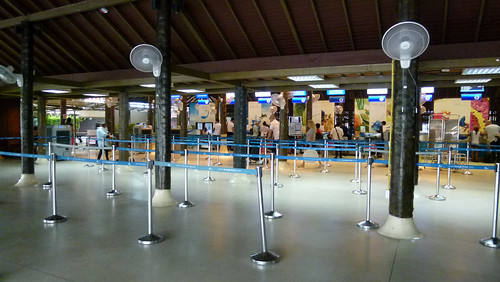 Samui Airport - Security stepped up