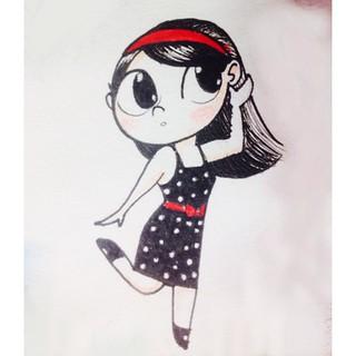 #InstaSize #drawing #illustration #girl #poa #chibi #feriado