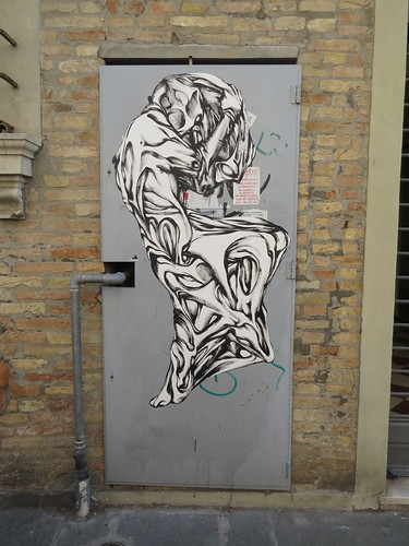 Pasteup sculpture