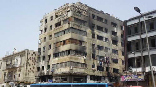 Al-Andalus Hotel after the fire
