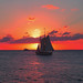 Sailing into the Sunset by ginger146