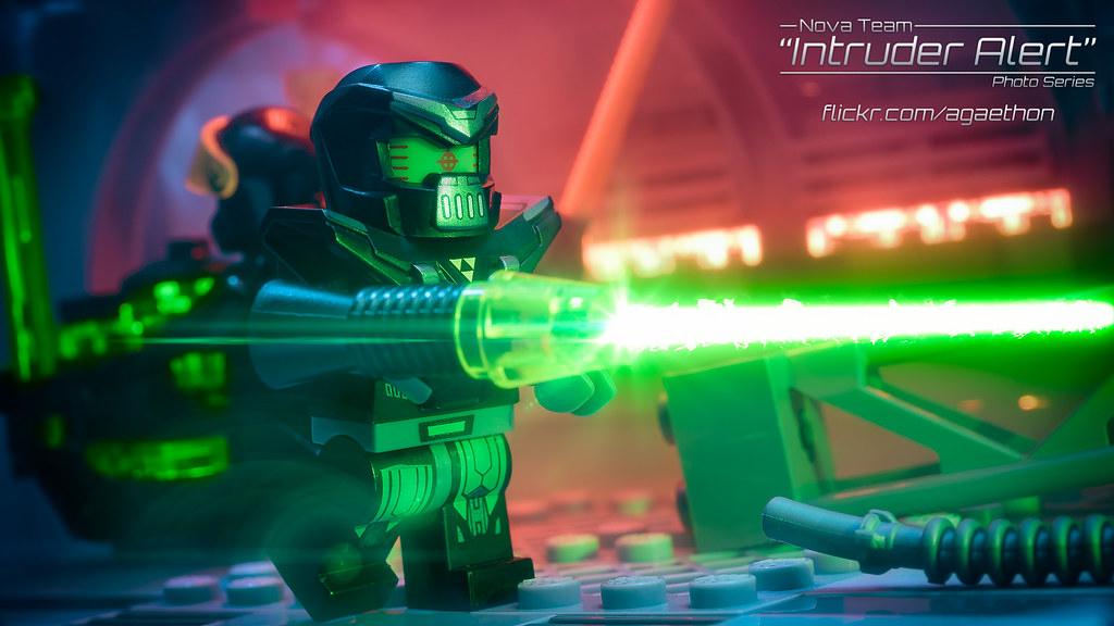 Intruder Alert 14 - Energy Blast!