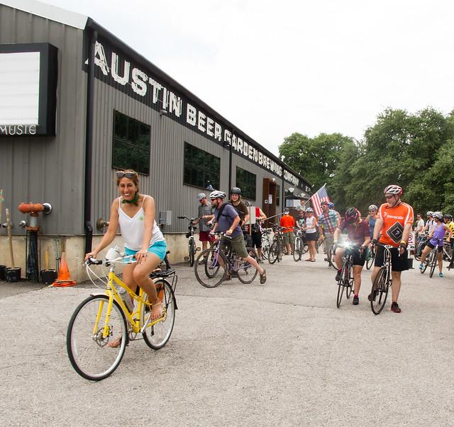 Spring Fling ride, Bike Austin