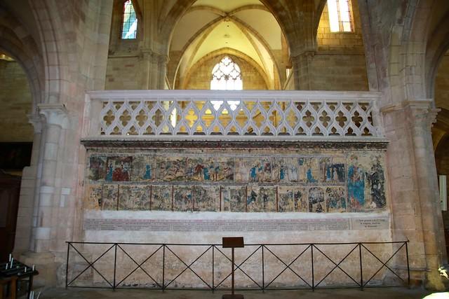 Abbatiale de Saint-Seine-l'Abbaye / Fresques (16èS)