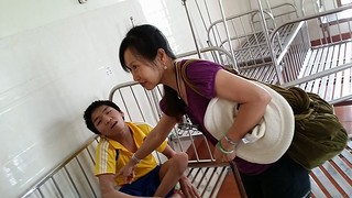 Daily Activities - Dr. Thanh-Tam and Dr. Duy-An at CSBTXH Thiện Tâm, Nghệ An