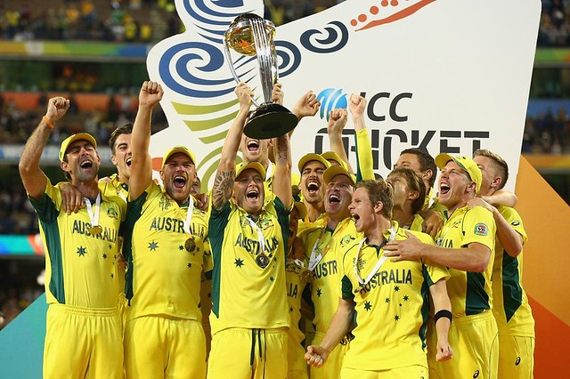 Australia 5th Time World Champions!
