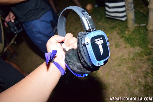 Tangram Philippines wireless RF headset for silent disco