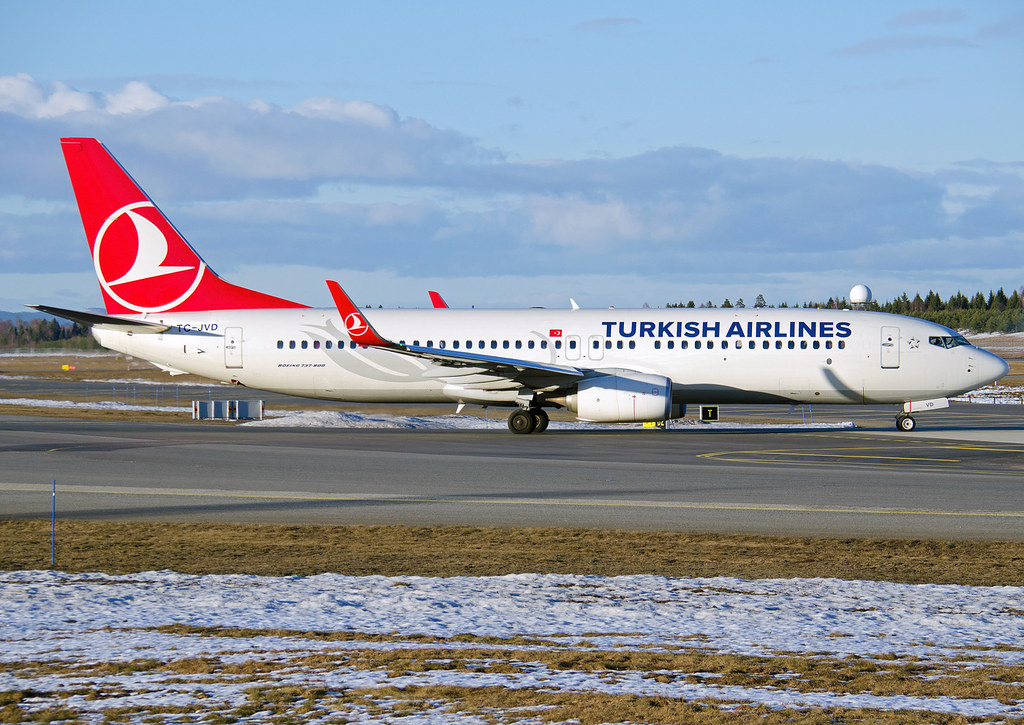 TC-JVD - B738 - Turkish Airlines