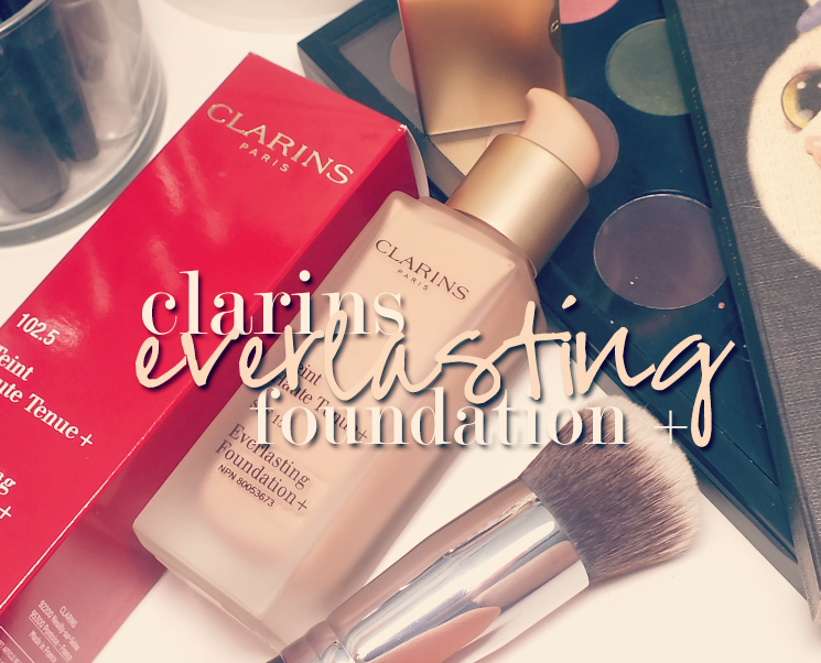 Clarins everlasting foundation + SPF 15- 102.5 Porcelain (4)