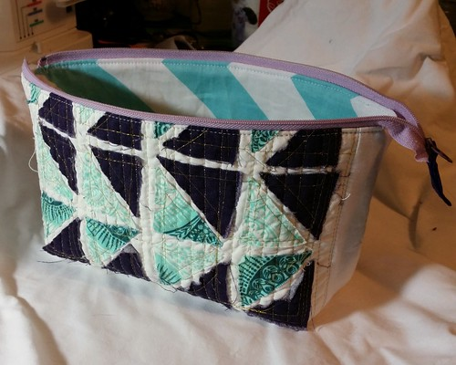 Zipper Pouch Demo for Quilt Guilds